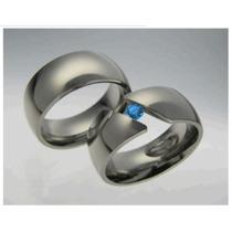 Hermosas Argollas De Matrimonio En Plata, Oro, Diamante, Par