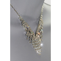 Conjunto Elegante, Collar, Aretes, Pulsera Y Anillo Ce103