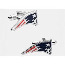 Mancuernillas Patriotas Football Americano Nueva Inglaterra