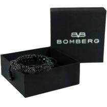 Bomberg Skully Bracelet Swarovski Full Black Ne S3 Diego Vez