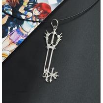 Collar De Metal Del Juego Kingdom Hearts Roxas Sora A