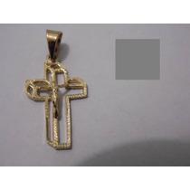 Bonitos Dijes (cruces) De Oro Laminado De 14k Varios Modelos