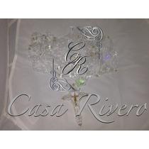 Lazo En Cristal De Swarovski, Laso, Boda ,