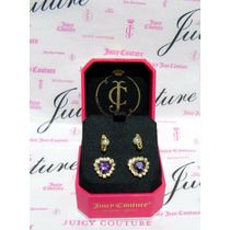 Remate Mca.juicy Couture Set 2 Pares De Aretes Muy Lindos