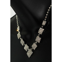 Conjunto Elegante, Collar, Aretes, Pulsera Y Anillo Ce110
