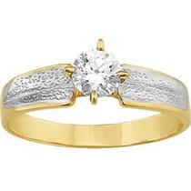 Anillo Oro Solido Promesa Cumpleaños Aniversario Amor