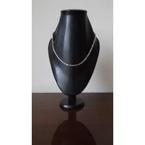 Collar Plata .925 Unisex Tejido Artesanal Tipo Bali Pavonado