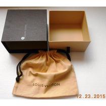 Louis Vuitton Caja C/polvera P/cinto 13x13x7.5 Fotos Reales
