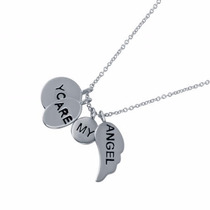 You Are My Angel Charm Necklace