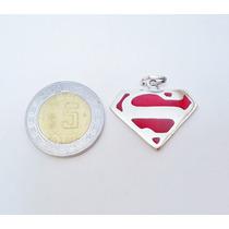 Dije De Superman De Plata .925 El Relicario De Plata