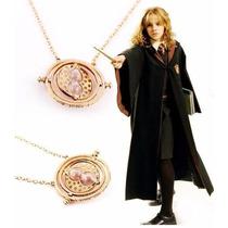 Collar De Harry Potter Hermione Gira Tiempo Varios Colores!