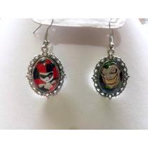 Aretes Camafeo Harley Quinnn Y The Joker Fan Art