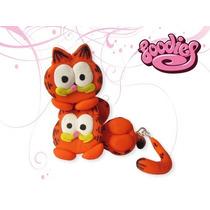 Aretes Kawaii Diferentes Con Formas Divertidas Garfield