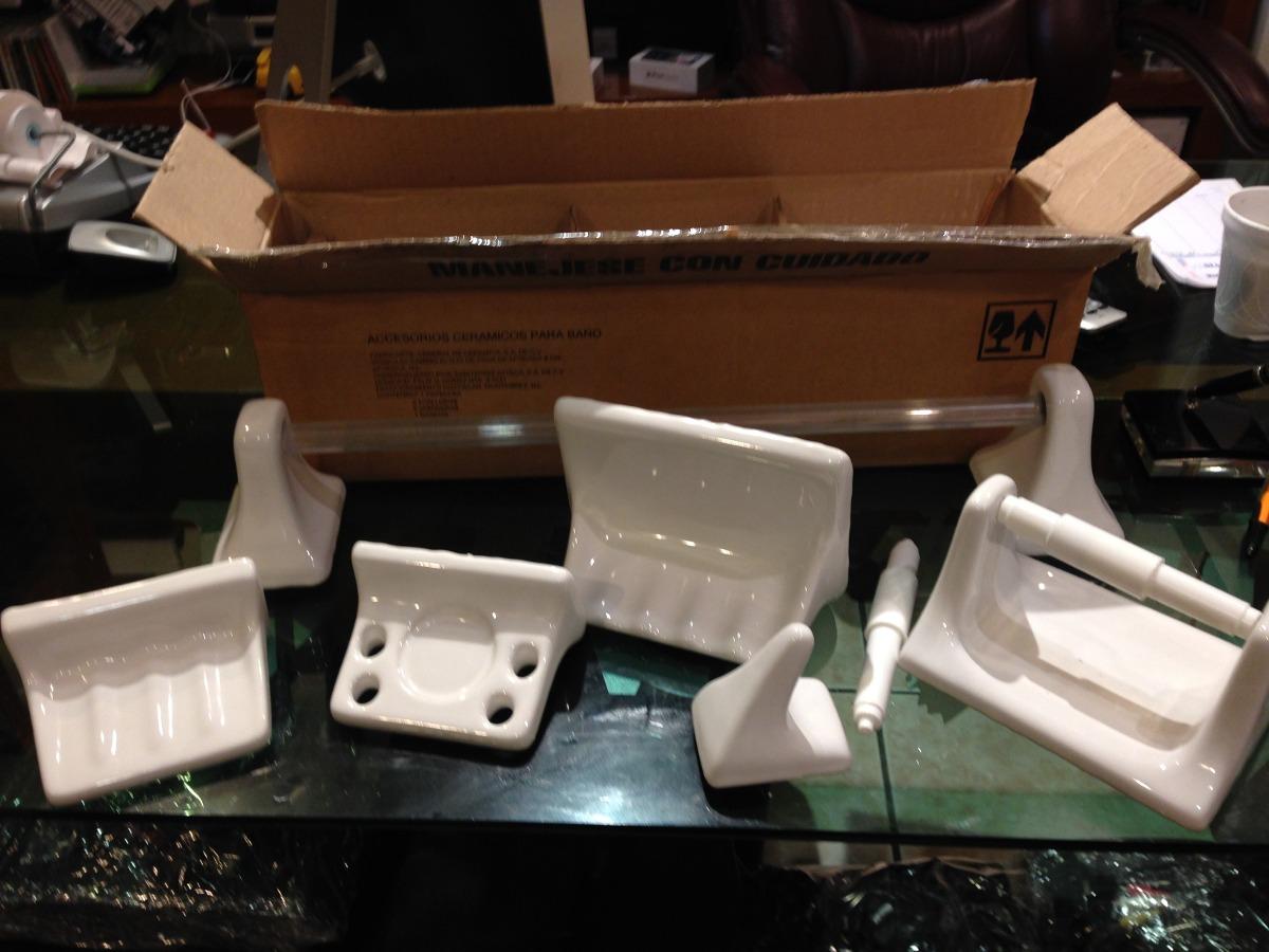 Juegos De Baño Interceramic:Juego Accesorios D Baño Interceramic De Ceramica Nuevos – $ 39900 en
