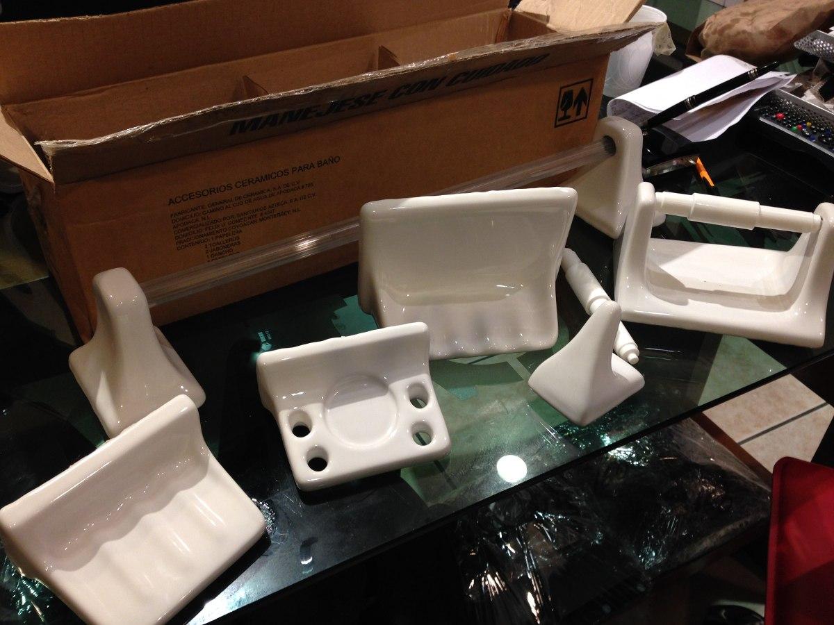Loseta ceramica para ba os interceramic for Set para bano de ceramica