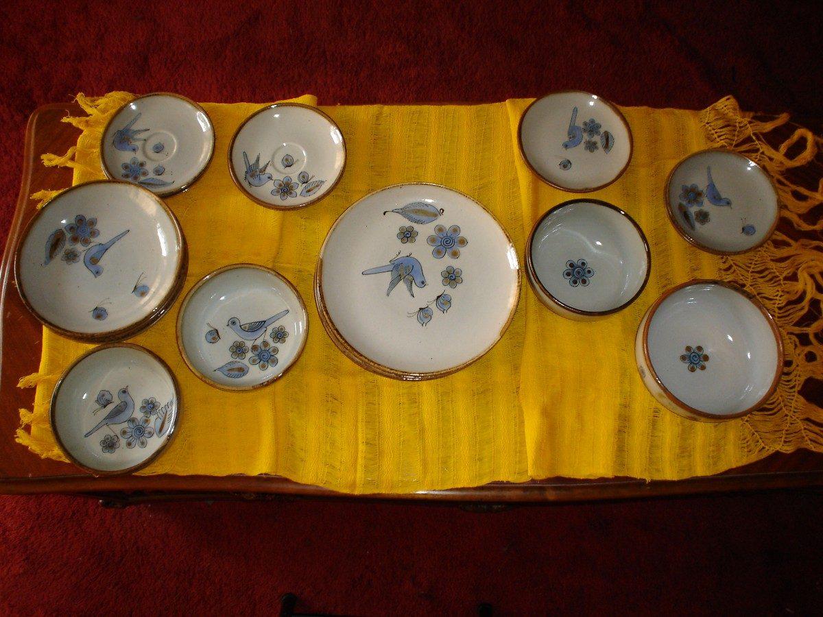 Juego de 19 platos vajilla de guadalajara 4 en for Vajilla de platos