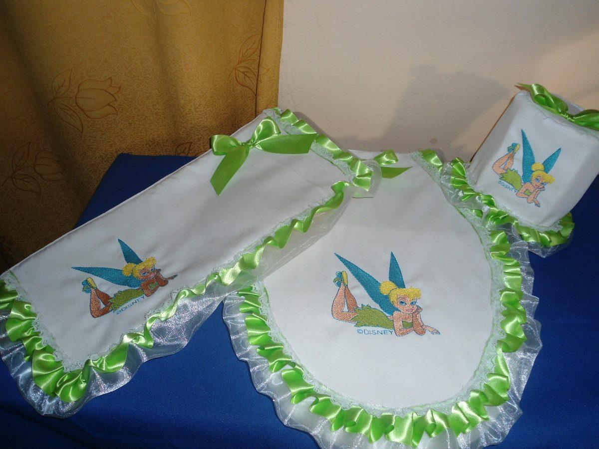 Juegos De Baño Lindos:Juegos De Bano Con Bordado Y Liston Bonitos Juegos De Bano Completos