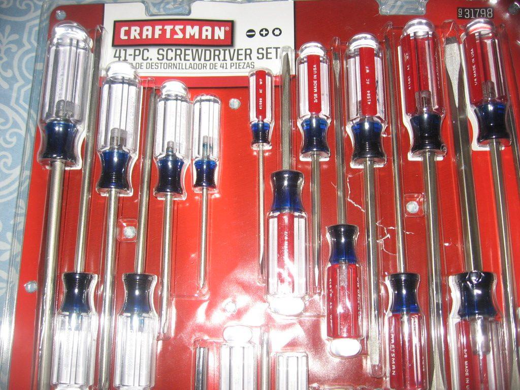 Juego set 41 piezas desarmadores craftsman 1 950 00 en
