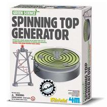 4m Spinning Top Generator Generador D Energía Mecánica 9pzas