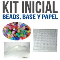 Kit Inicial Incluye Bolsa Con 2,000 Mini Beads, Base Y Papel