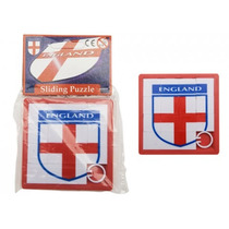 Football Game - Inglaterra Sliding Puzzle 8x 8cm San Jorge