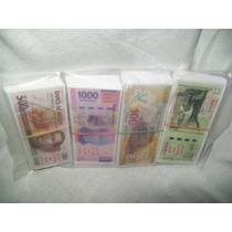 Gcg Juego De Mini Billetes De Mexico Juguete Didactico Dvn