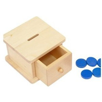 Montessori Infantil Coin Box
