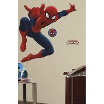 Roommates Rmk1796gm De Ultimate Spiderman Pelar Y Palo Gigan
