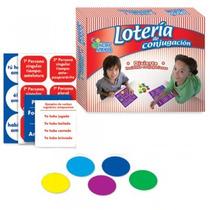 Lotería De Conjugación Material Didactico
