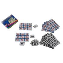 Lotería Educativa Sílabas 117 Tarjetas 13 Tableros 5+ Dml