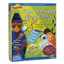 Kit Científico Explorador Crimen Colectores Spy Ciencia