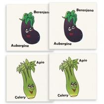 Memoria Verduras Material Didactico