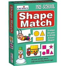 Juego Educacional - Creativa Forma Preescolar Partido Kids F