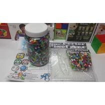 Kit 2 Perler Pixel Art 4900 Cuentas Perler, Hama Base