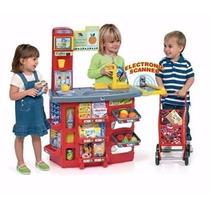 Supermercado Con Carrito Juguete Para Niños Prinsel