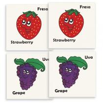 Memoria Frutas Material Didactico