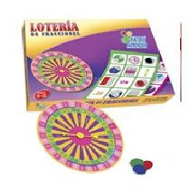 Loteria De Fracciones Material Didactico