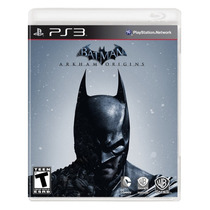 Batman: Arkham Origins Ps3 Nuevo Sellado 100% Original