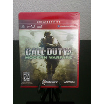 Call Of Duty Modern Warfare 4 Greatest Hits Ps3 Nuevo Fabric