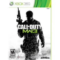Call Of Duty Moder Warfare 3 Xbox 360