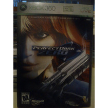 Perfect Dark Zero Limited Collectors Edition Xbox 360