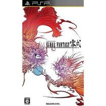 Final Fantasy Type 0 Psp Japonesa