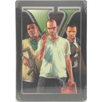Grand Theft Auto V Gta 5 En Steel Book Para Xbox 360