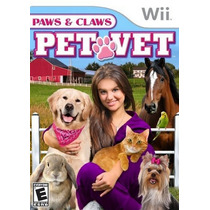Paws & Claws Pet Vet Wii Nuevo De Fabrica