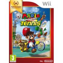 Mario Power Tennis Tenis Para Consola Nintendo Wii Y Wii U