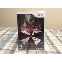 Resident Evil The Umbrela Chronicles Wii Nuevo Sellado