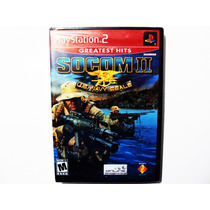 Socom Ii Nuevo - Play Station 2 Ps2 Socom 2 U.s. Navy Seals