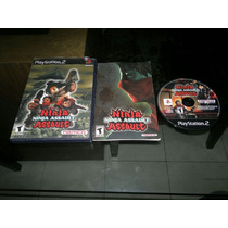 Ninja Assault Completo Para Play Station 2,guncon 2,checalo