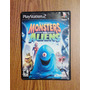 Vendo Play Station 2 Videojuego Monsters Vs Aliens Original