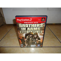 Brothers In Arms Road To Hill 30 Playstation 2 Ps2 +++